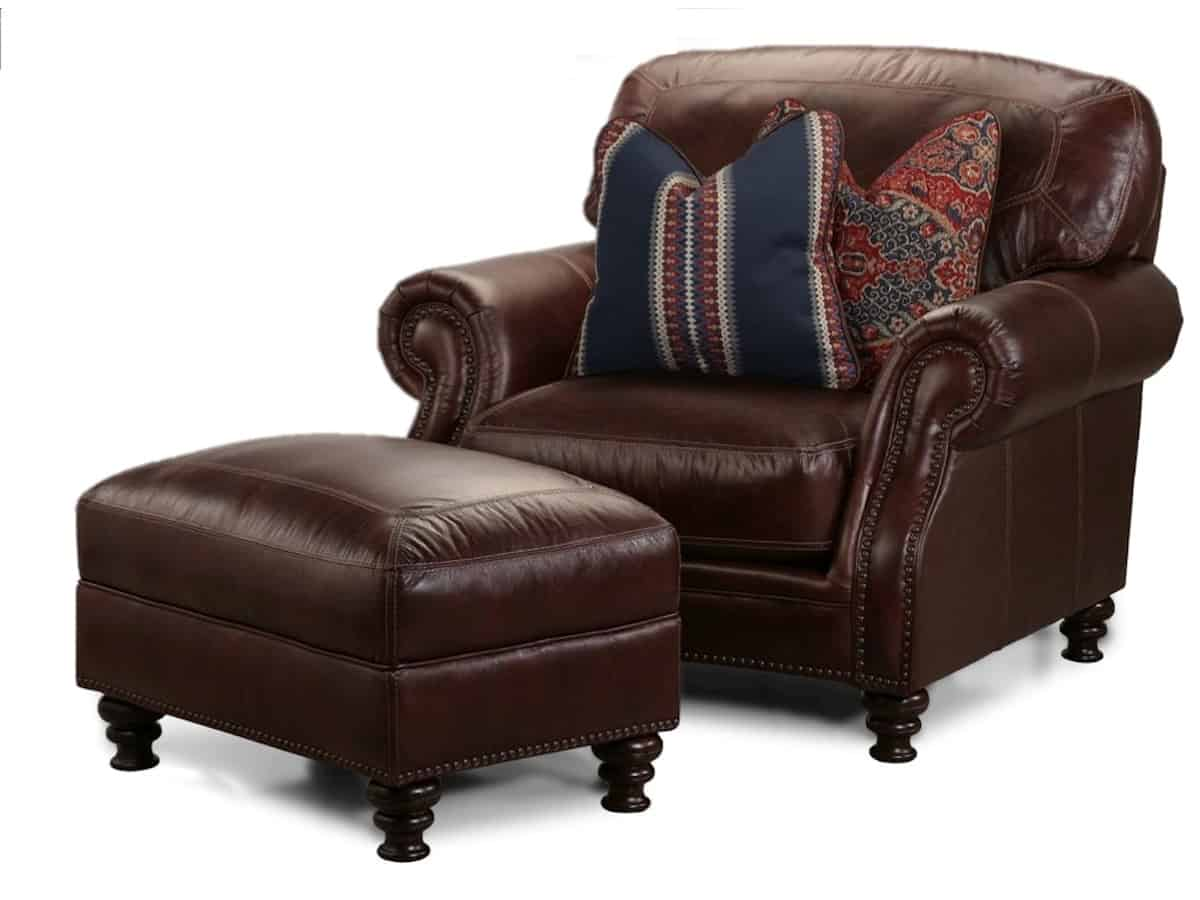 Picasso Leather Brown Squirrel Furniture