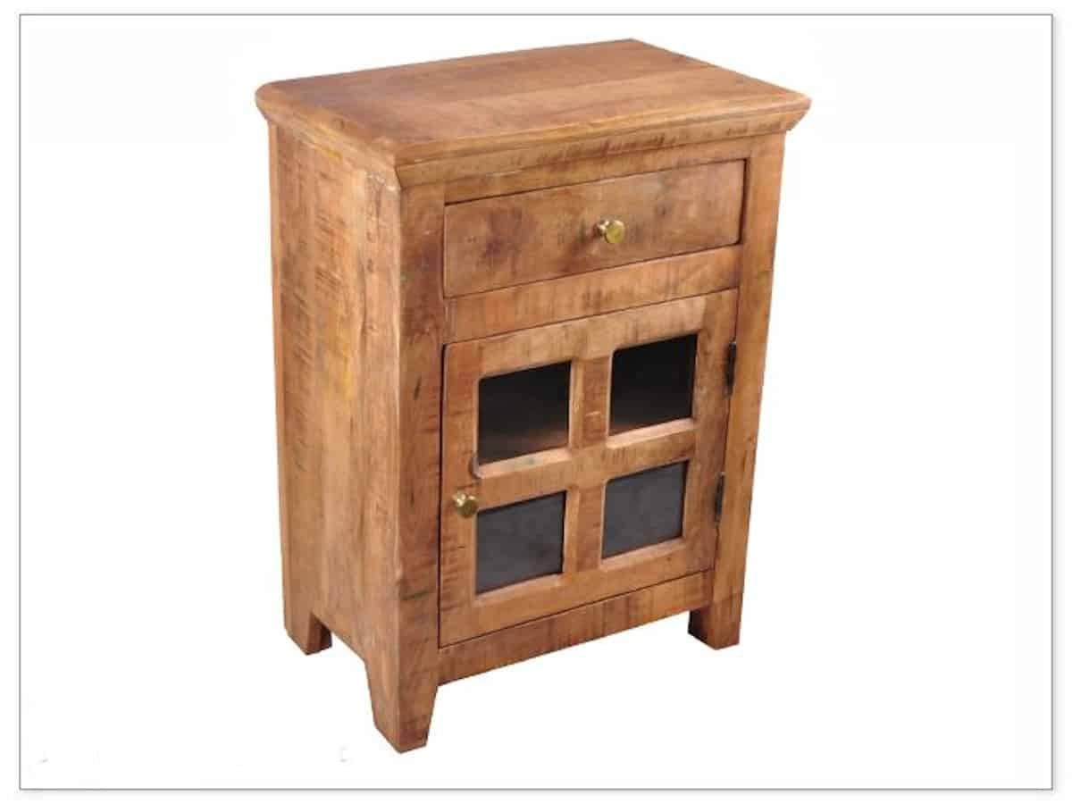 Reclaimed Side Cabinet Brown Squirrel Furniture