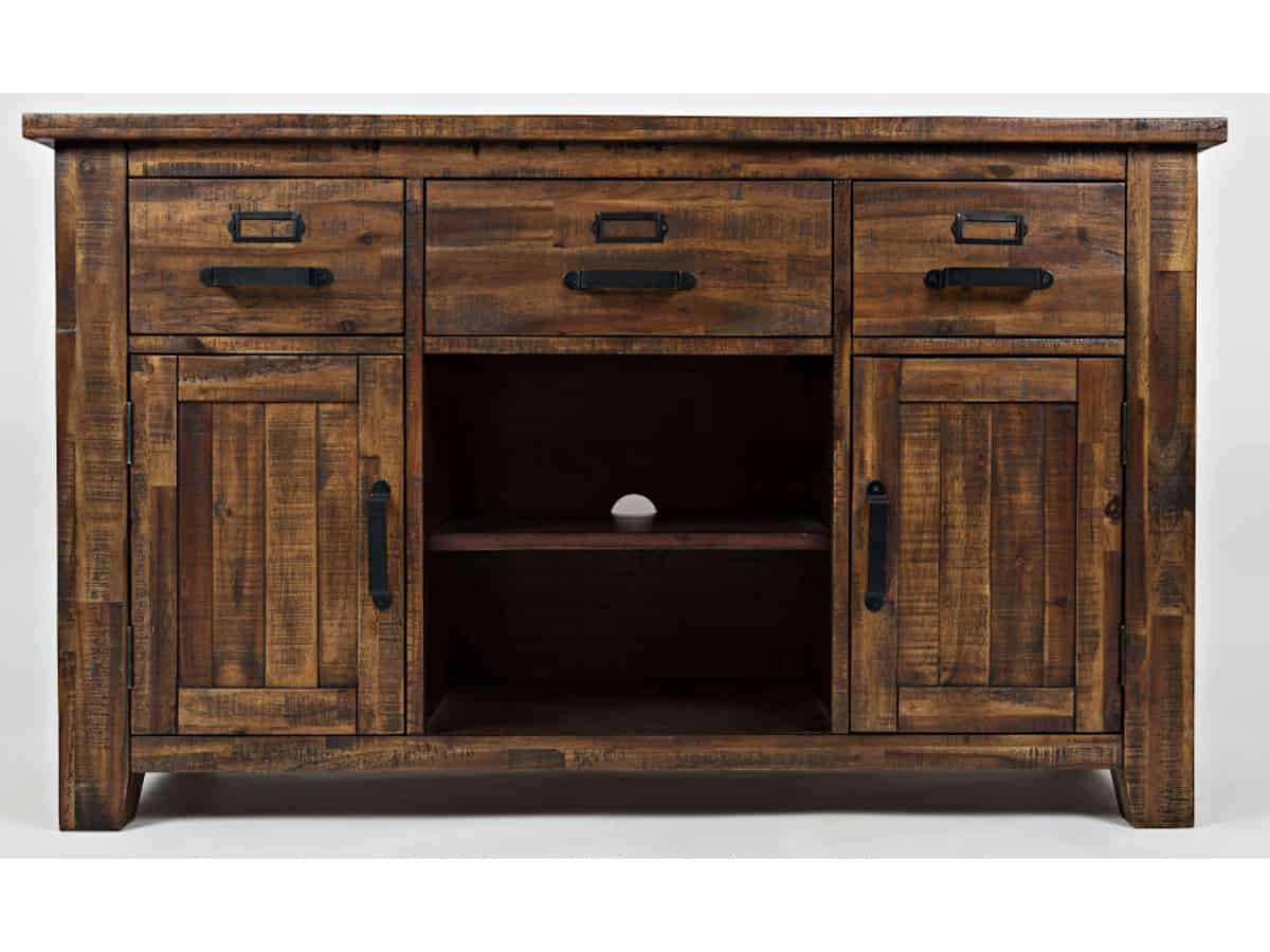 Cannon Valley 50 Media Console Brown Squirrel Furniture