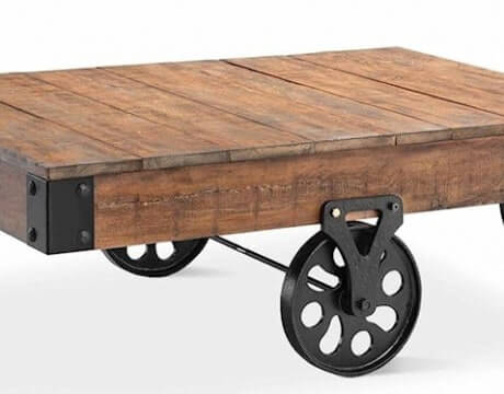 Rockwell Cart Coffee Table