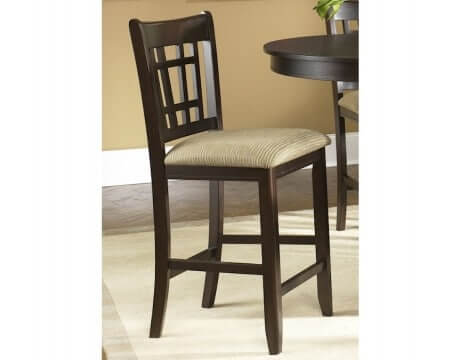 Merlot Mission Counter Chair