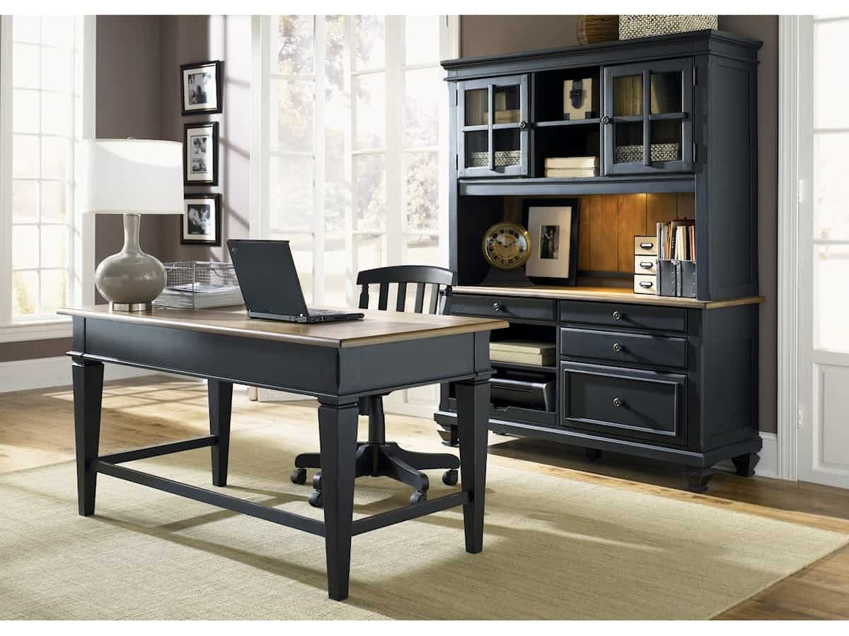 Bungalow Ii Jr Executive Desk Brown Squirrel