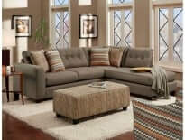 Fandango Flame Sectional