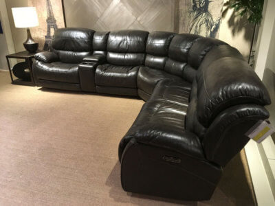 furniture-leather-Motion Sectionals