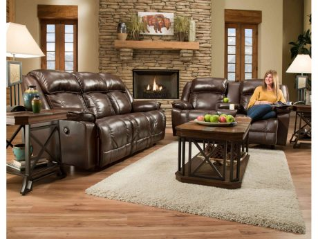 Furniture Leather Motion Sofa Love