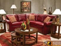 Lochlan Leather Sectional