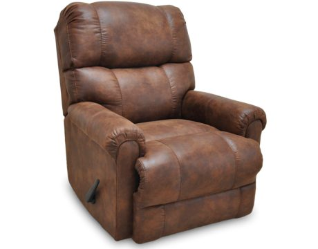 """Captain"" Faux Leather recliner"