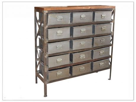 chest grey modern studio dresser oak tone and two wood century mid fella baxton drawer