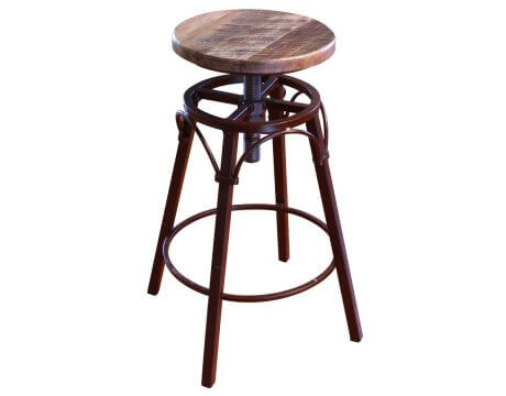 900 Antique Adjustable Stool