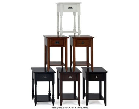 Assorted Chairside Tables