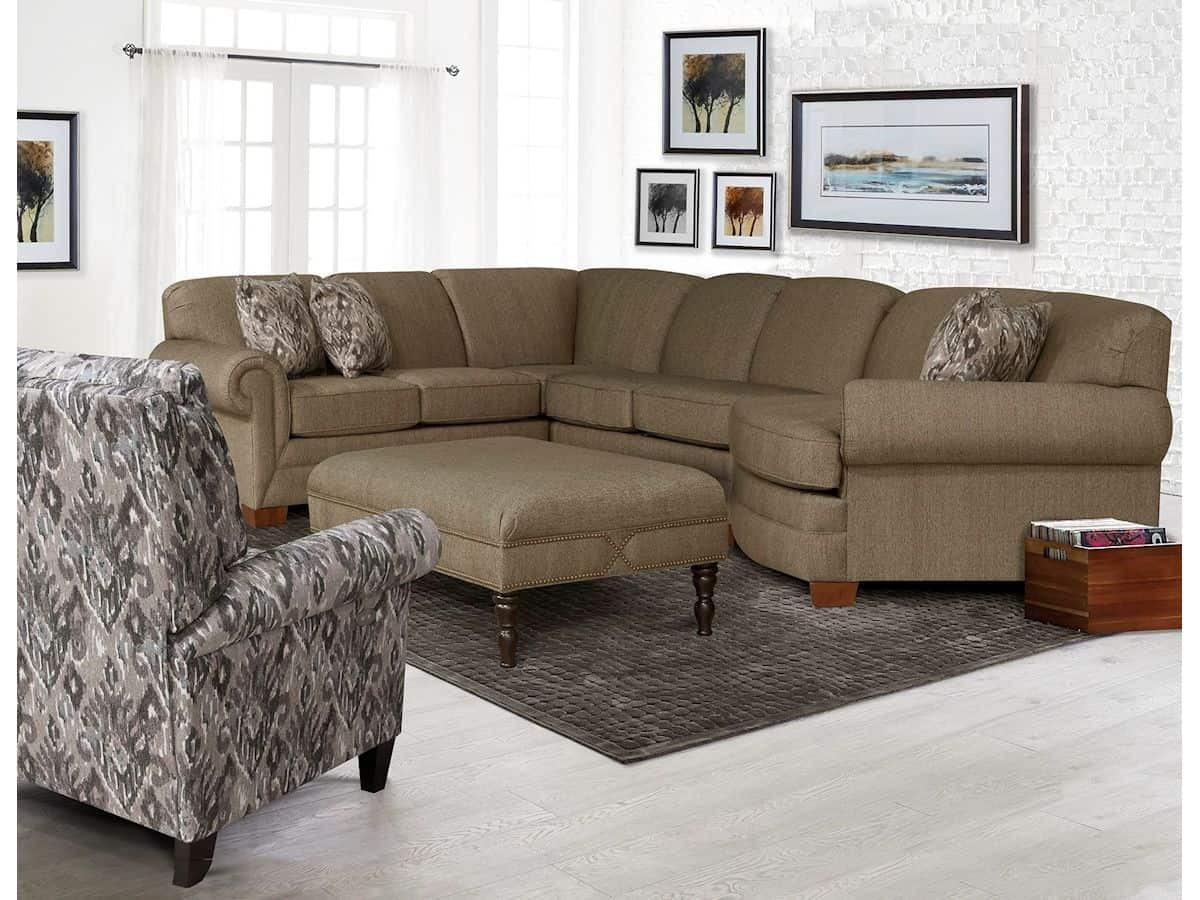 Monroe Sectional Ii Brown Squirrel Furniturebrown