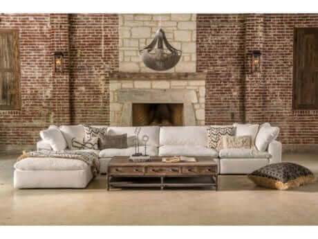 Cloud Sectional Brown Squirrel, Brown Squirrel Furniture Knoxville Tn