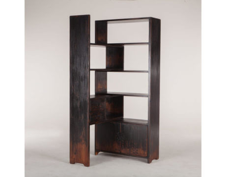 Antique  Library Bookshelf