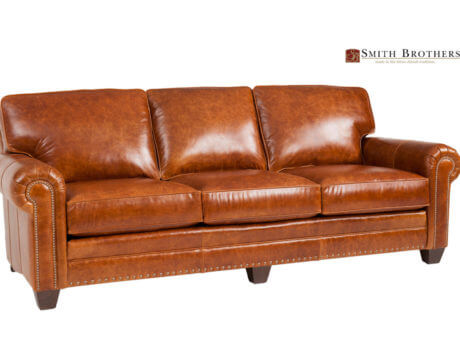Custom Leather Sofa-235