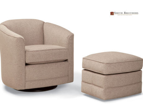 Custom Swivel Chair – 506 Fabric