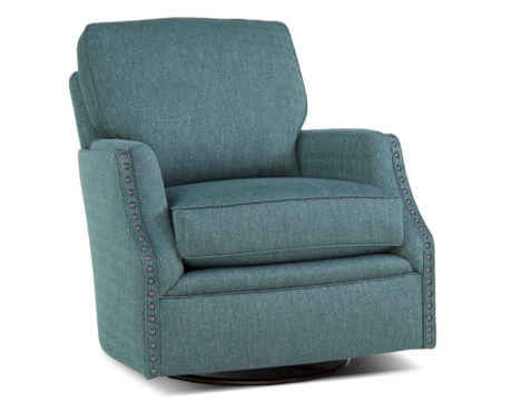 Custom Swivel Chair – 526 Fabric