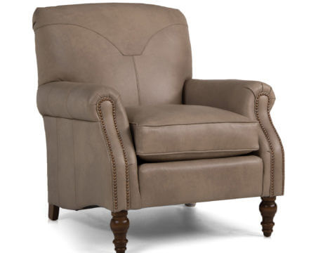 Custom Accent Chair – 568 Leather