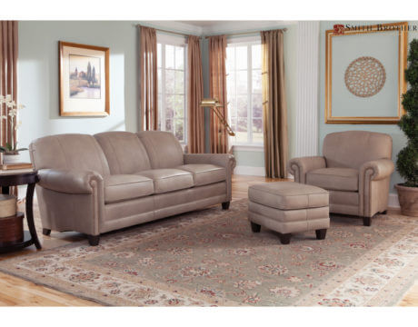 Top Grain Leather Sofa-397