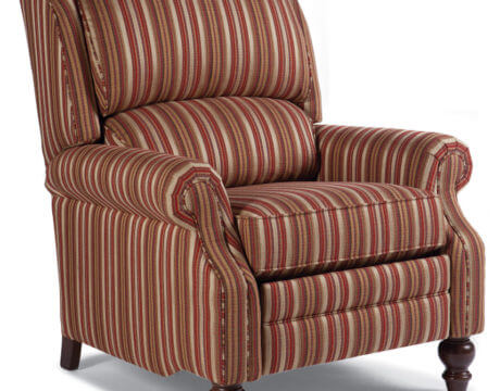 Custom Pressback Chair – 705 Fabric