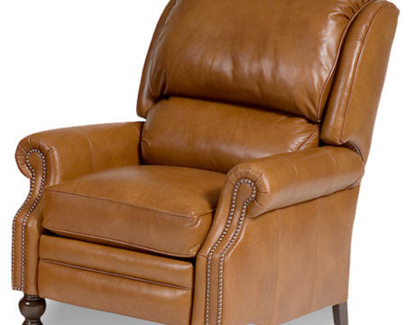 Custom Pressback Chair – 705 Leather