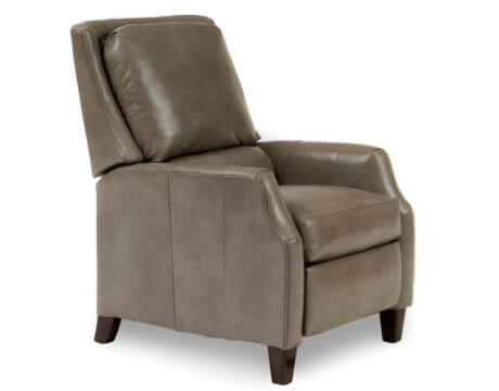 Custom Pressback Chair – 722 Leather