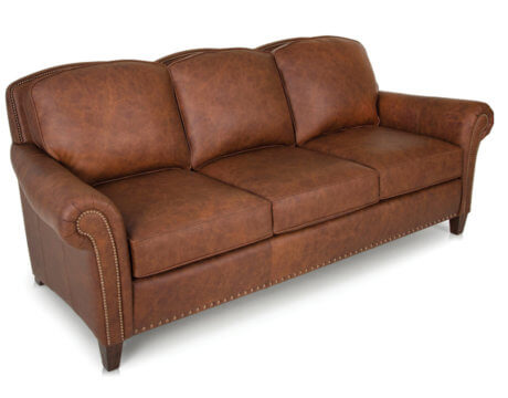 Custom Tailored Leather Sofa -246L