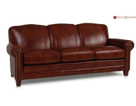 Custom Tailored Leather Sofa -397L